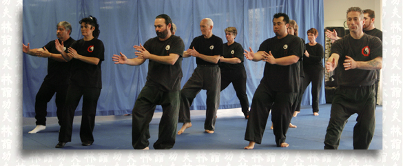 Group Tai Chi lesson